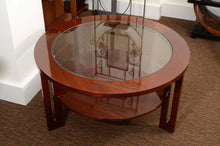 Load image into Gallery viewer, Round Mid-Century American Cocktail Table