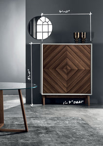 Bagutta Wood Cupboard