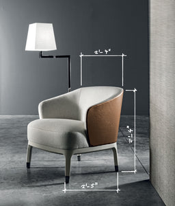 Lungotevere Armchair