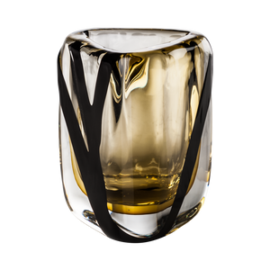Black Belt Triangolo Crystal Tea Small