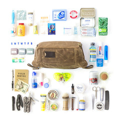 How to Pack Your Dopp Kit - The Essentials, The Optionals, The Indispensables (Free Checklist!)