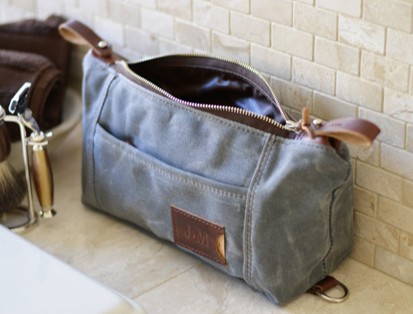 Personalized Expandable Dopp Kit by Sivani Designs
