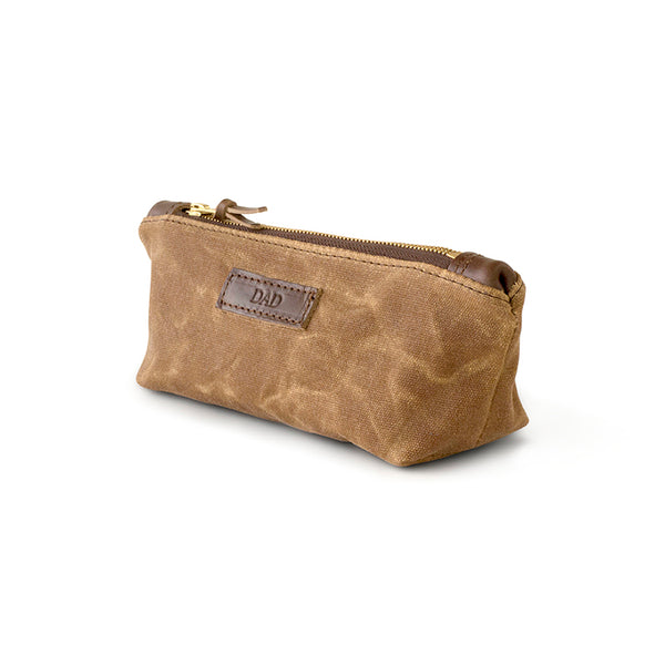 Waxed Canvas Daily Zipper Pouch