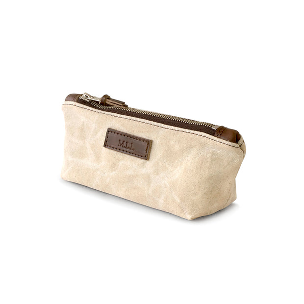 Waxed Canvas Daily Zipper Pouch 1