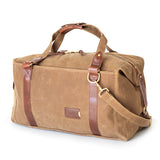 Expandable Waxed Canvas Duffle Bag