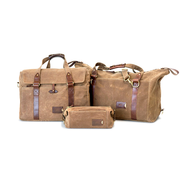 Duffle, Messenger & Dopp Kit Set