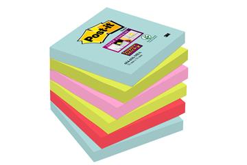 Notisar Post-it Super Sticky Miami 90 blad 76x76mm