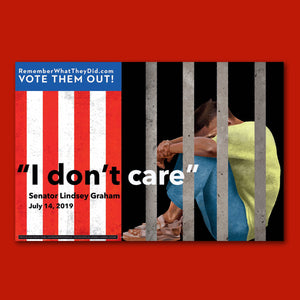 "I Don't Care Poster - Oversized - English 24"" x 36"""