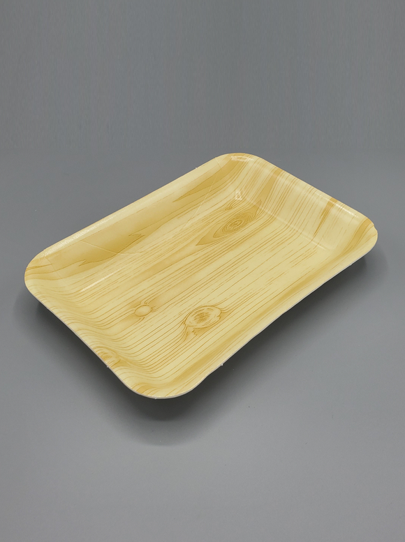 2P WOOD Foam Tray 300/Case