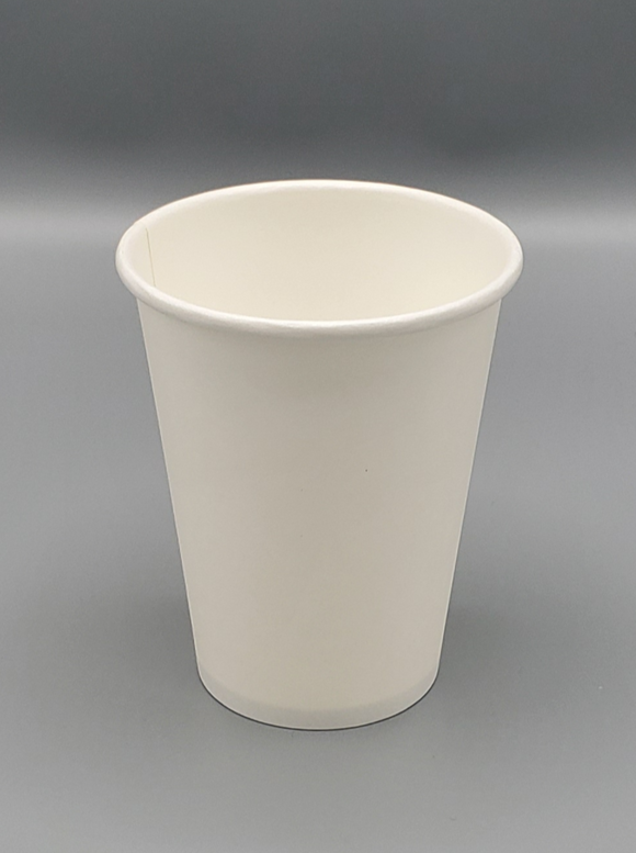 12oz COFFEE PAPER CUP PLAIN  (White)  1000/Case