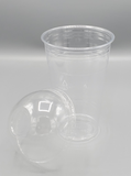 12-24oz CLEAR PET DOME LID 1000/Case
