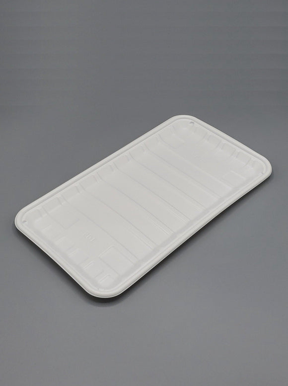 10S PP White Tray - 500/case