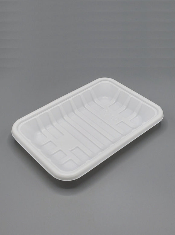#2 PP White Tray - 500/case