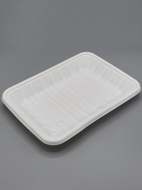 4D PP White Tray - 400/case