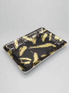 Black & Gold Foam Tray 300/Case