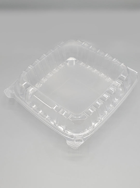 DART ClearSeal® 9x9 OPS Clear Hinged Container With the Lid 500/case