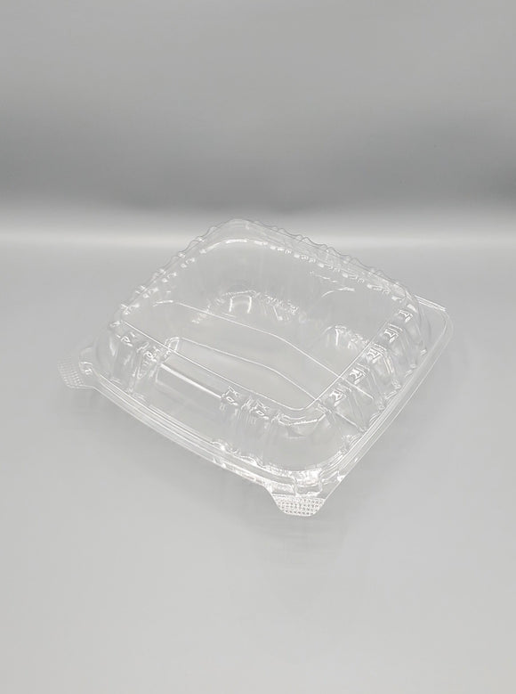 KPT Clear Hinged PET Plastic 8