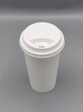 16oz COFFEE PAPER CUP PLAIN  (White) 1000/Case