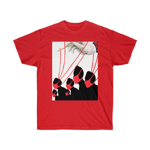 Mask Puppet Red Tee