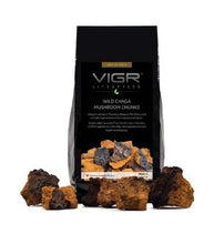Load image into Gallery viewer, Wild Chaga Mushroom Chunks