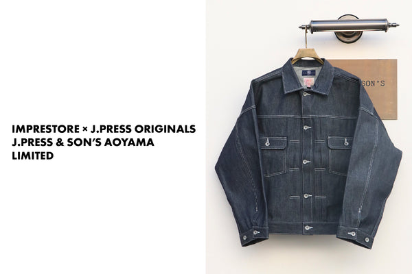 IMPRESTORE × J.PRESS ORIGINALS - J.PRESS & SON'S AOYAMA LIMITED