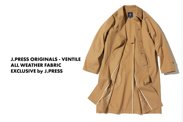 J.PRESS ORIGINALS - VENTILE
