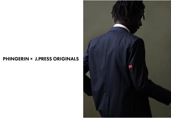PHINGERIN × J.PRESS ORIGINALS