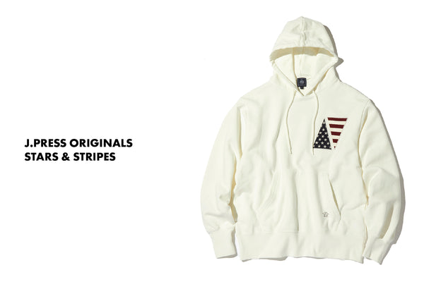 J.PRESS ORIGINALS - STARS & STRIPES CREW / HOODIE
