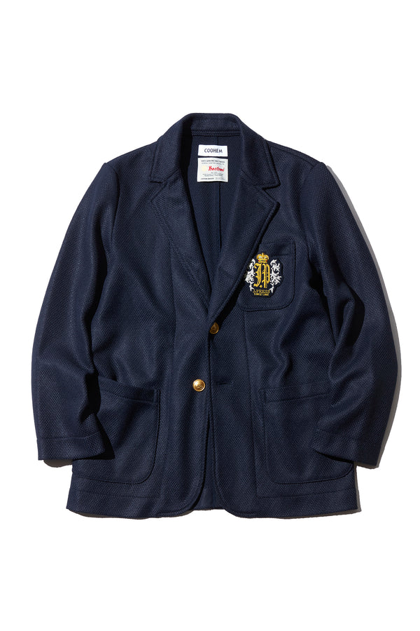 COOHEM × J.PRESS ORIGINALS - KNIT 3B NAVY BLAZER