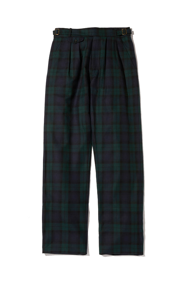 jpress kenneth field TARTAN PLAID GURKA TROUSERS
