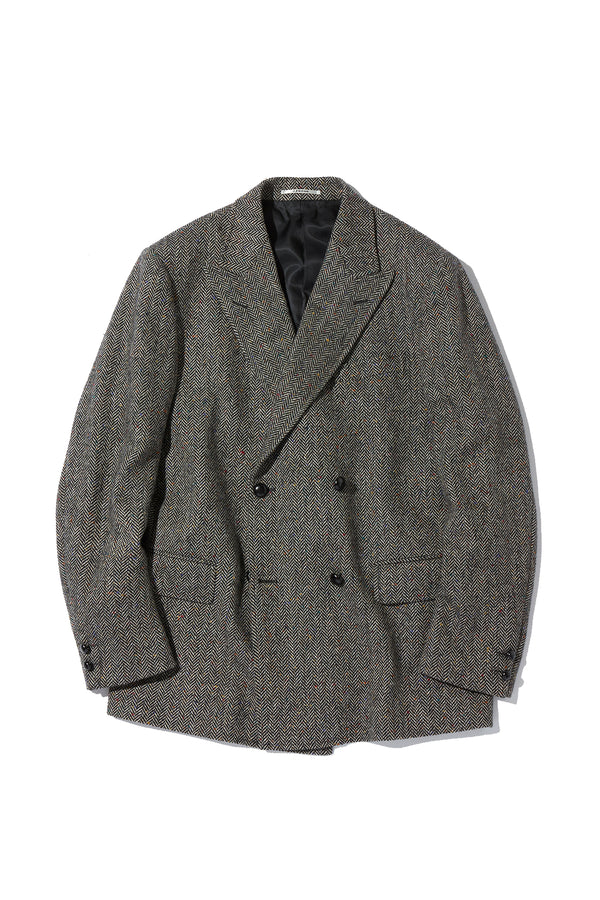 Irish Shetland Tweed 4B Jacket