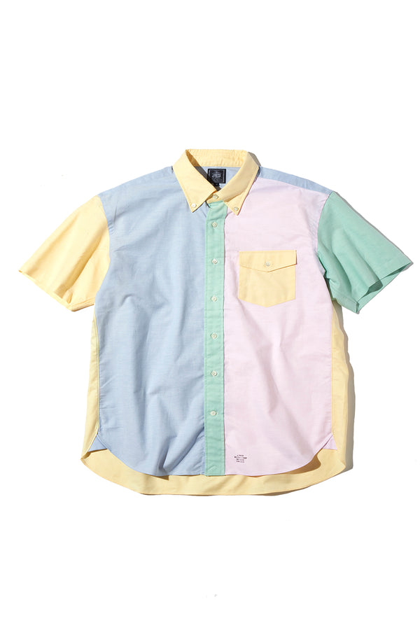 OXFORD B.D. CRAZY PATTERN SHIRT BAGGY FIT