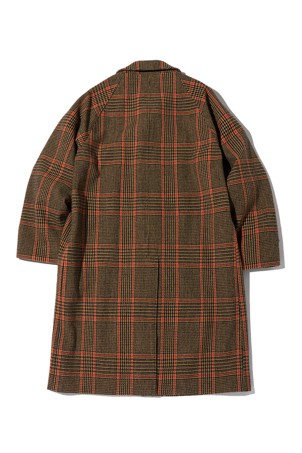 Tweed Balmacaan Coat