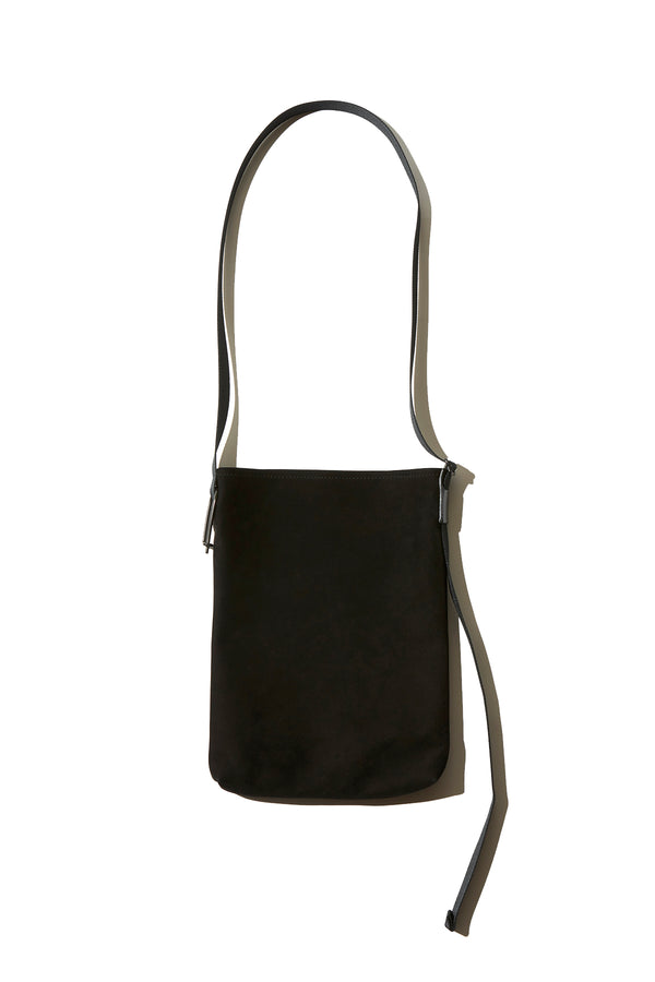 NL, DAN, Nubuck Leather Shoulder Bag,