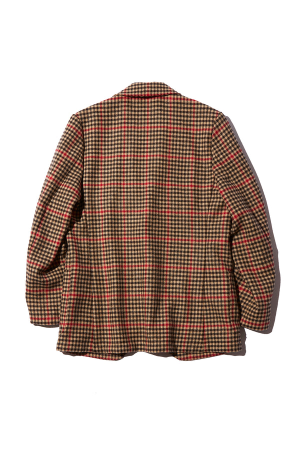 ROWING BLAZERS - GUNCHECK TWEED JACKET