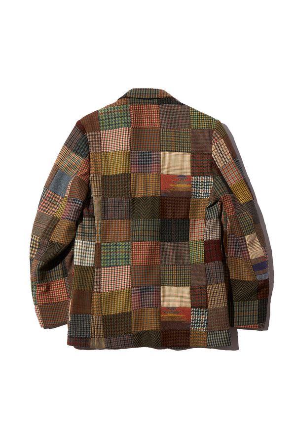 ROWING BLAZERS - PATCHWORK TWEED JACKET