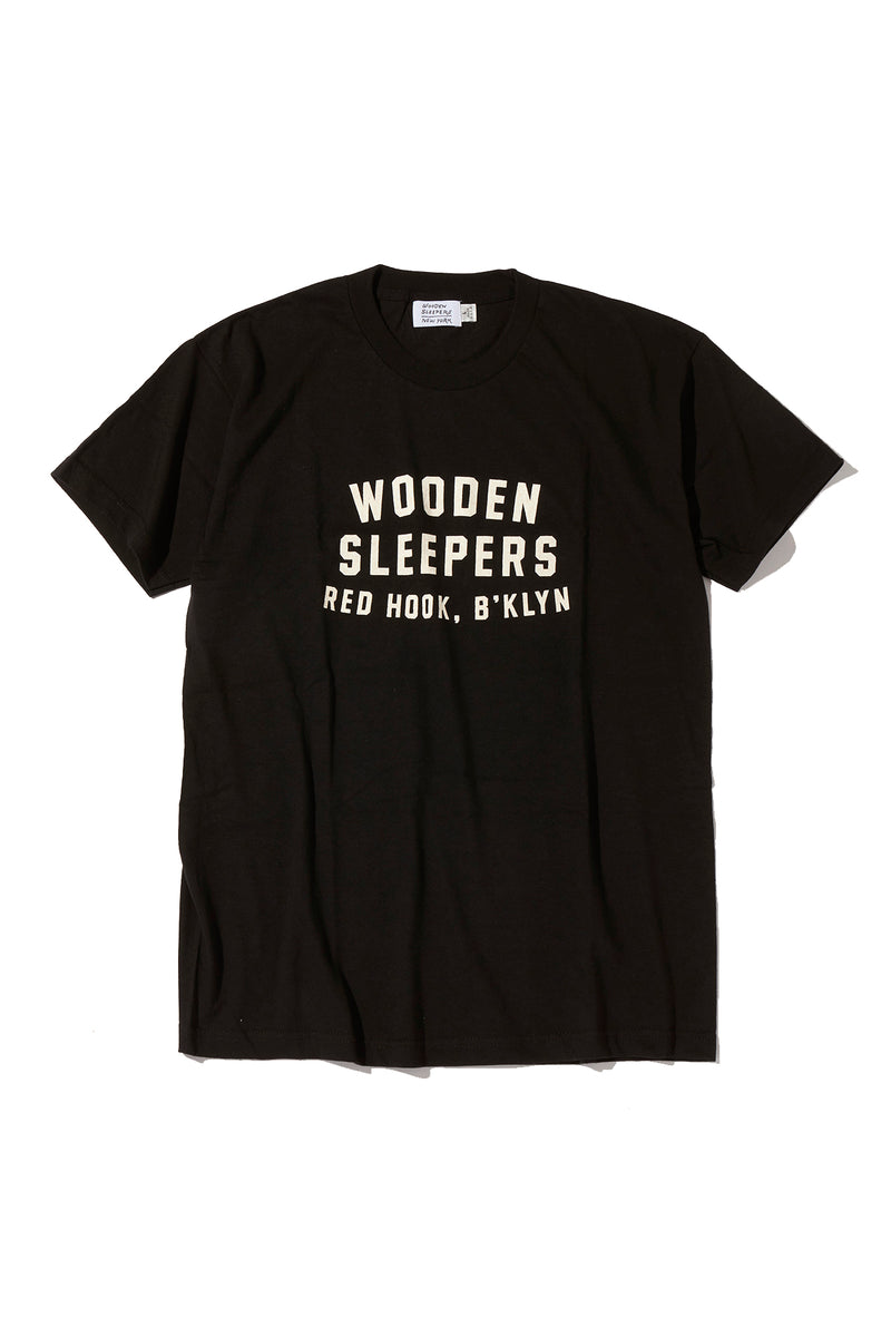 WOODEN SLEEPERS, ARCH LOGO T-SHIRT