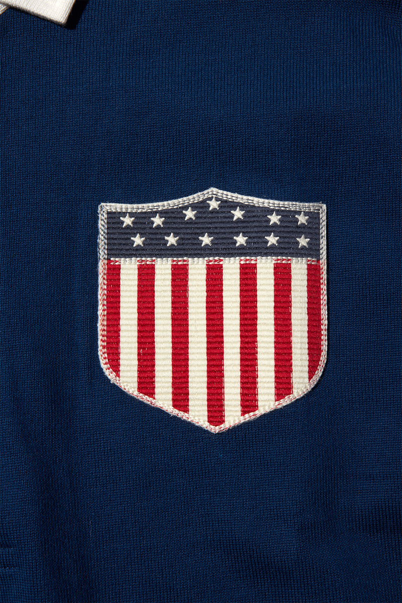 ROWING BLAZERS - USA RUGBY SHIRT