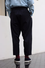 KURO × J.PRESS ORIGINALS - CLEAR SARGE WORSTED WOOL EASY PANTS