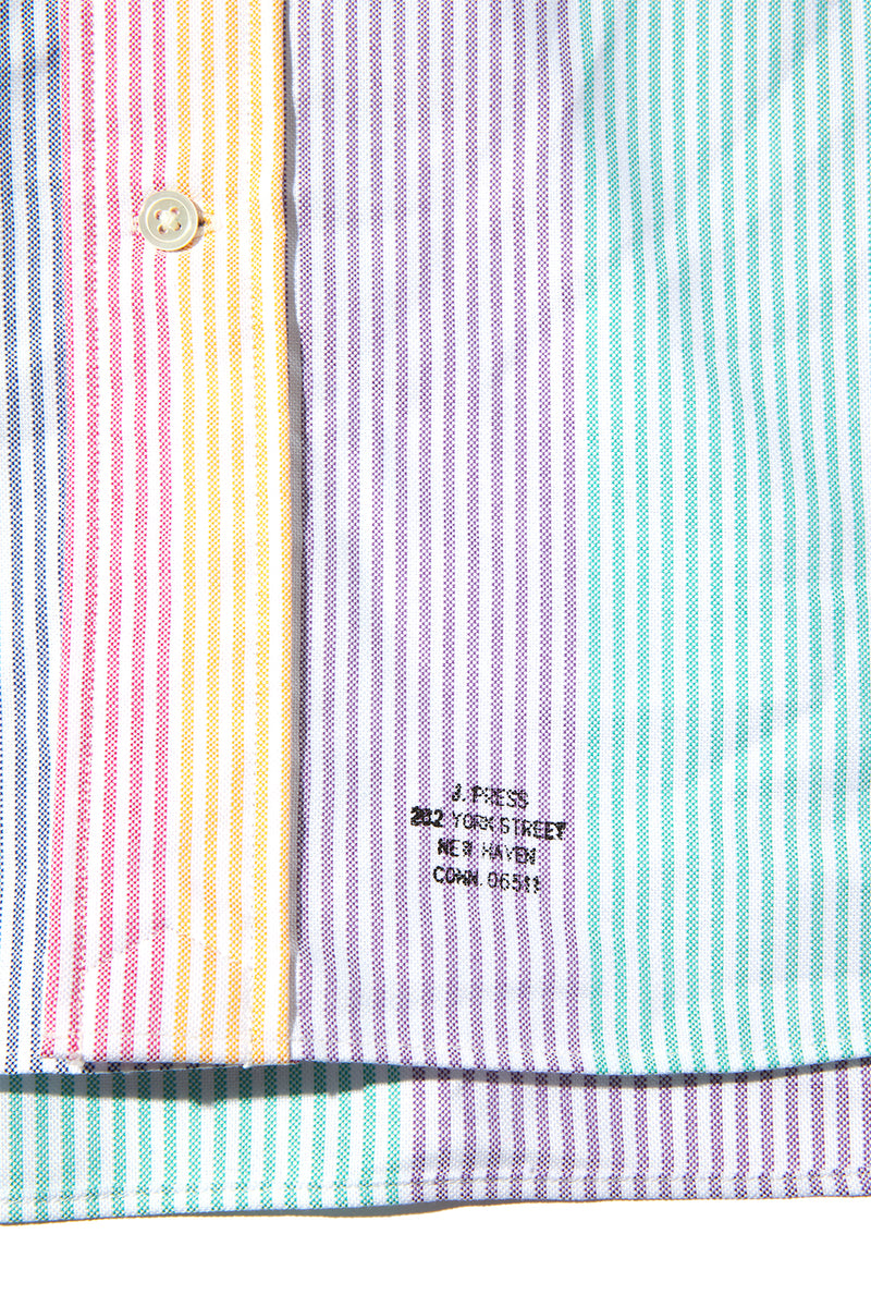 HERITAGE STOCK PROGRAM - OXFORD B.D. SHIRT CANDY ST AUTHENTIC FIT