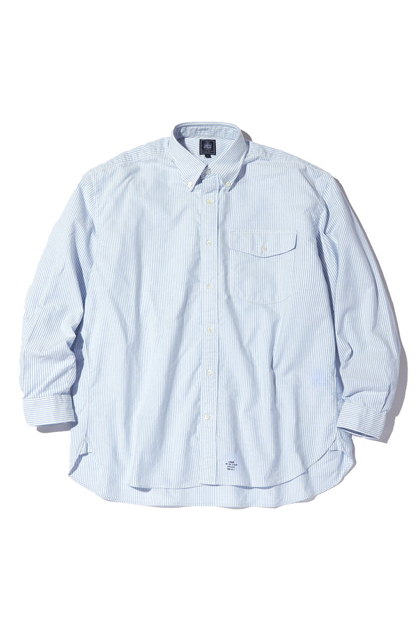 HERITAGE STOCK PROGRAM - OXFORD B.D. SHIRT CANDY ST BAGGY FIT