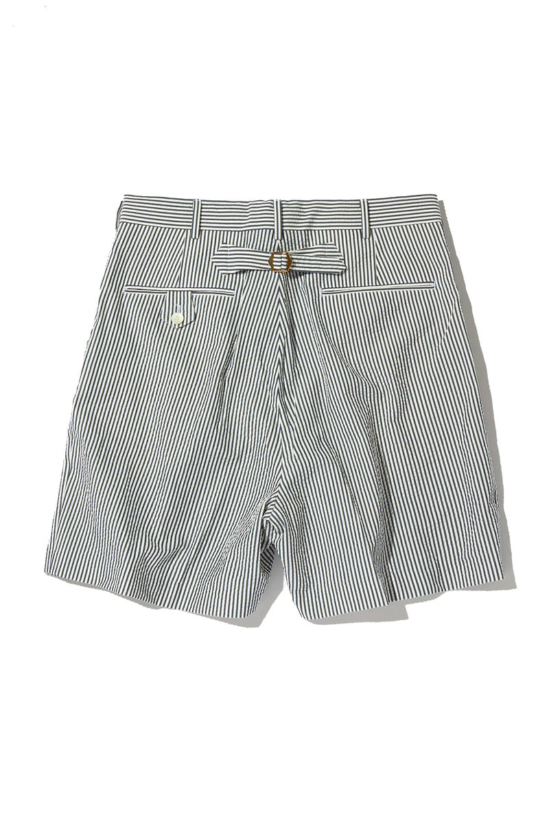 SEERSUCKER 2PLEATS SHORTS