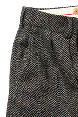 Irish Shetland Tweed 2pleats Trousers