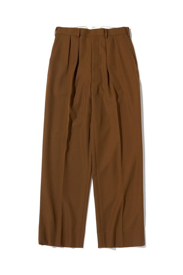 T/W Serge 2pleats Trousers