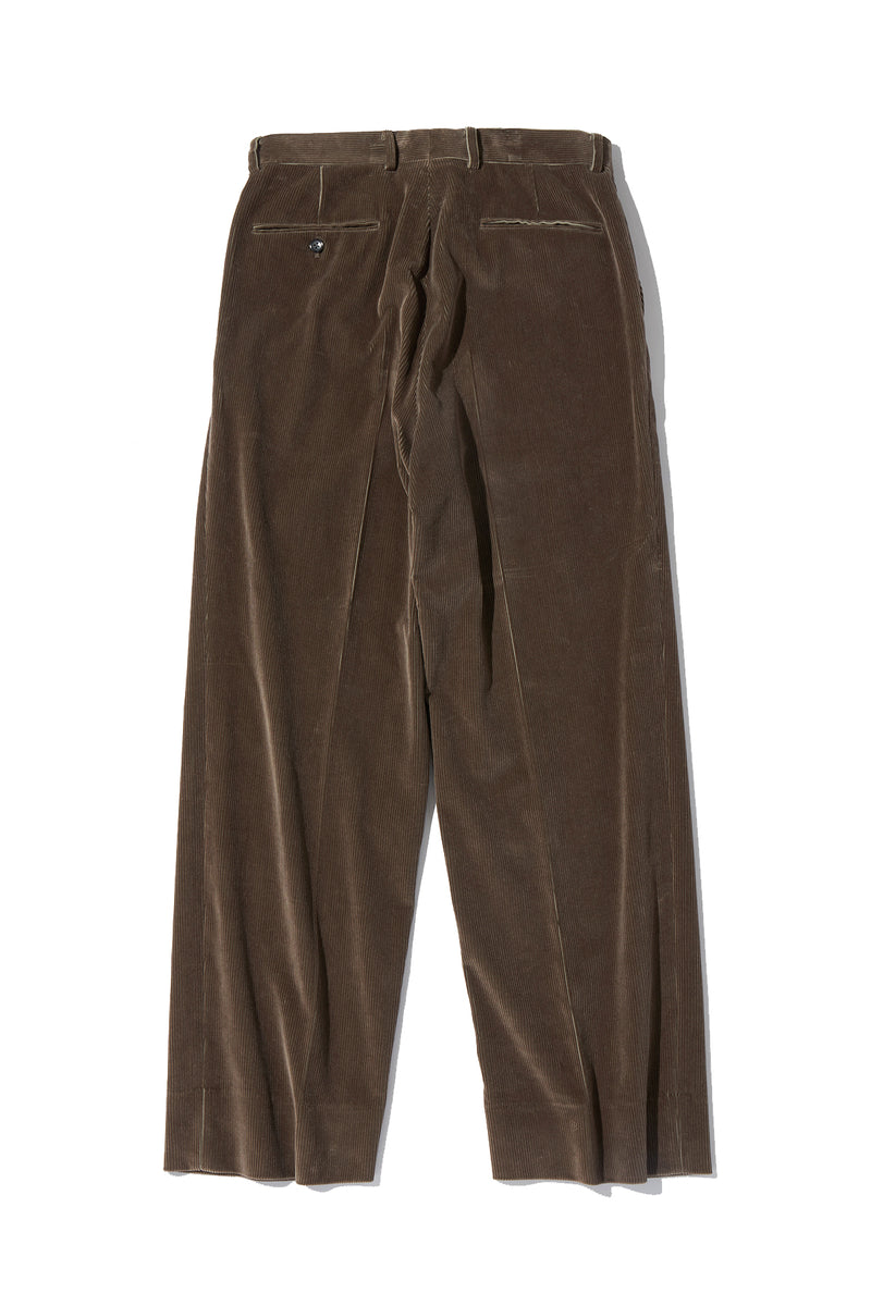 Corduroy Wide Trousers