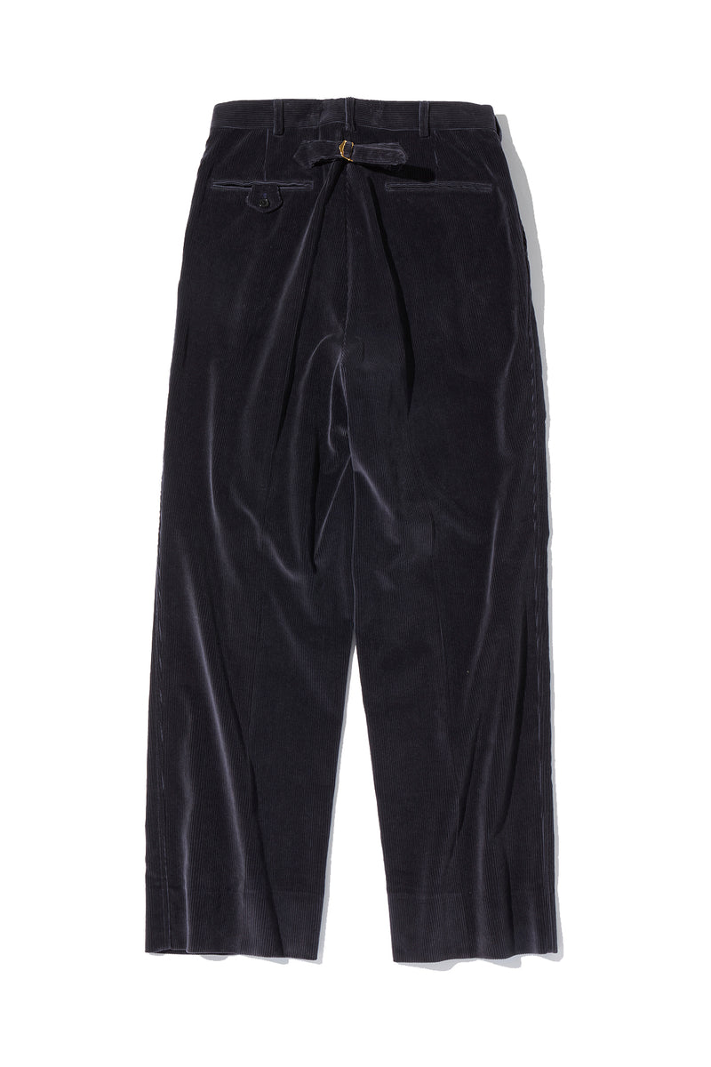 Corduroy 2pleats Trousers
