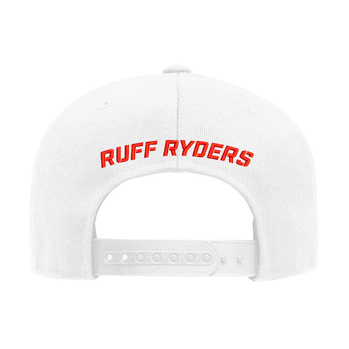 RR Icon Snapback Hat - White/Red