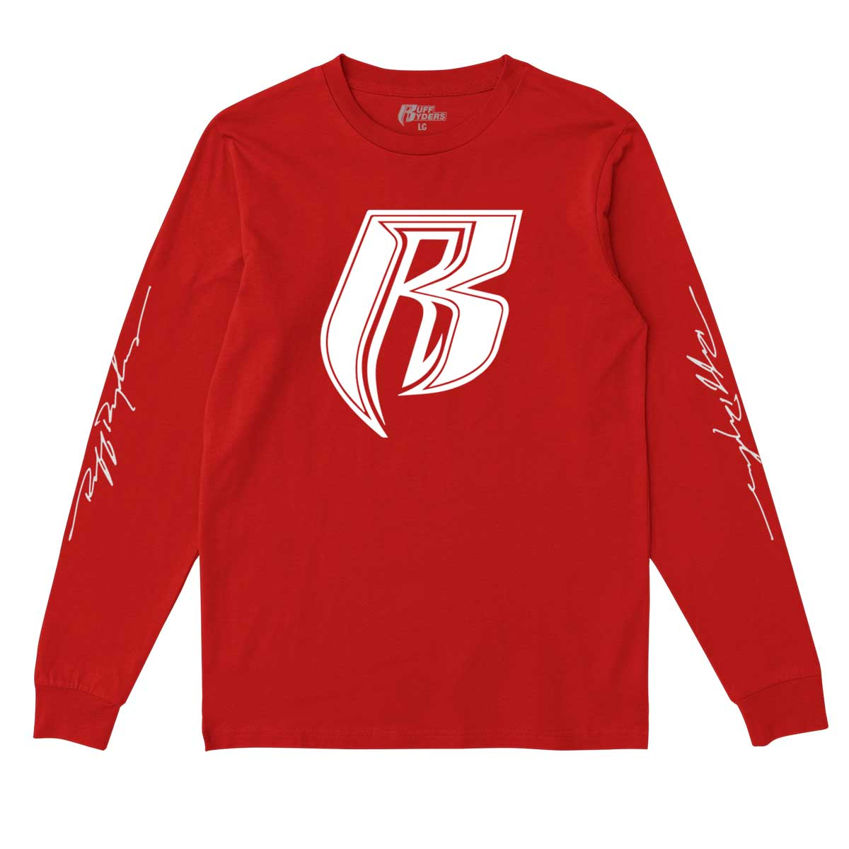 RR Icon Signature Long Sleeve T-Shirt - Red