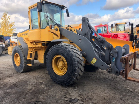 VOLVO L90E - 2005 - Loader Chargeur + Quick Attach