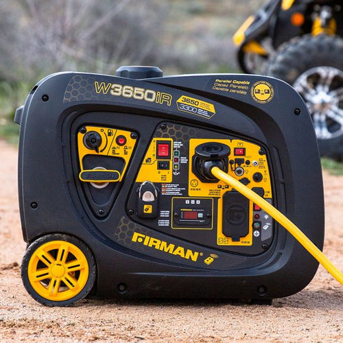 FIRMAN W03383 - 3650 WATT INVERTER GENERATOR - Remote Start-American Camp Supply